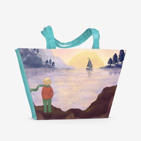 Пляжная сумка «Мечты и море»