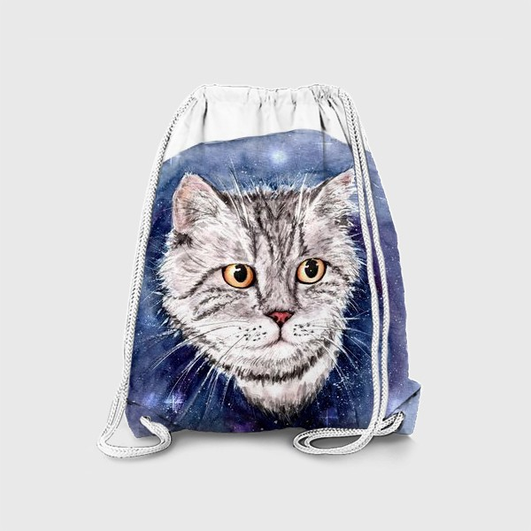 Рюкзак «Котик в космосе»