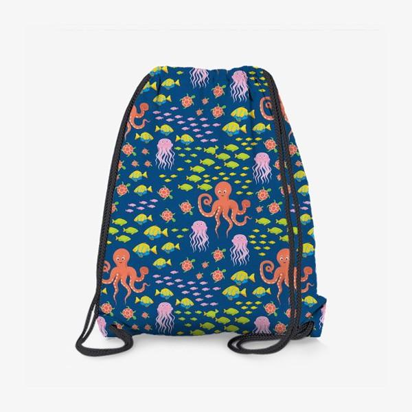 Рюкзак «Морская жизнь»