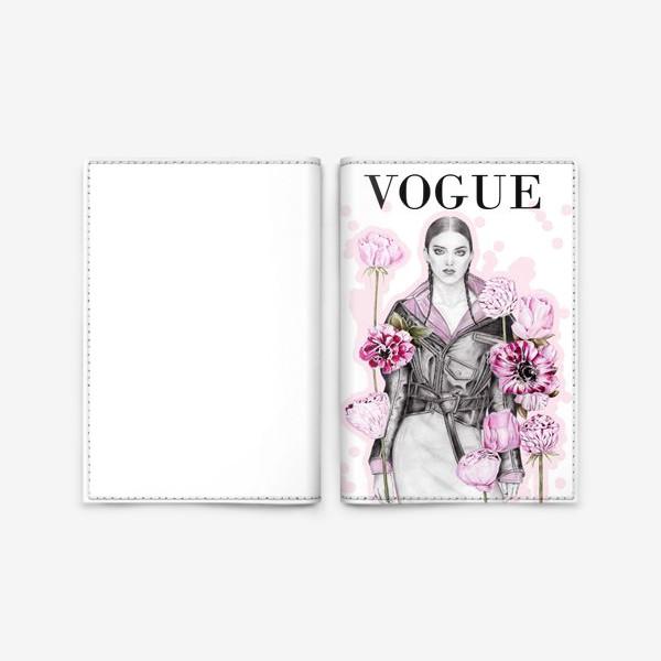 Обложка для паспорта «VOGUE»