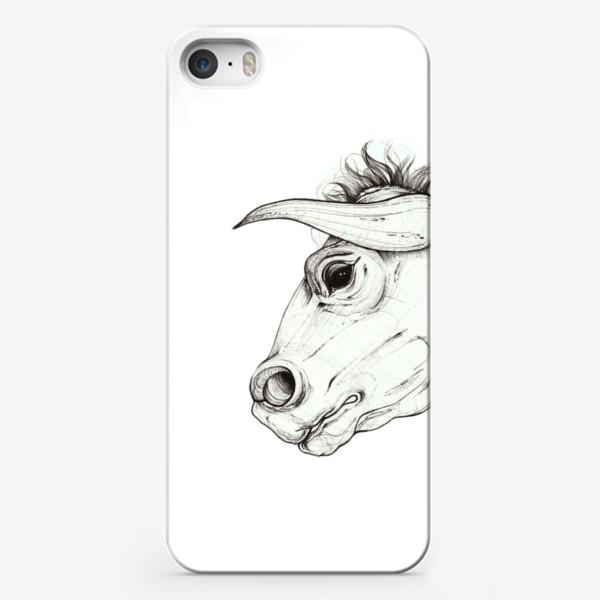 Чехол iPhone «Профиль»