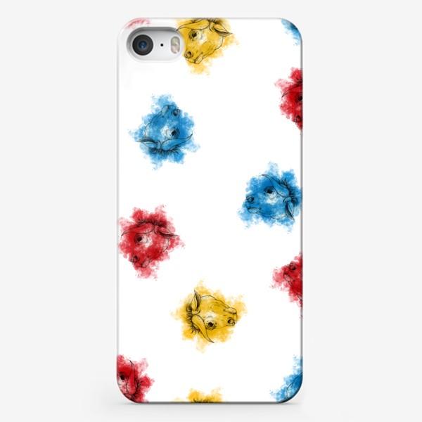 Чехол iPhone «Bulls pattern»