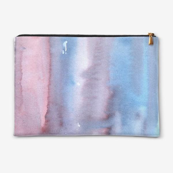 Косметичка «Абстрактный фон в фиолетовом цвете»