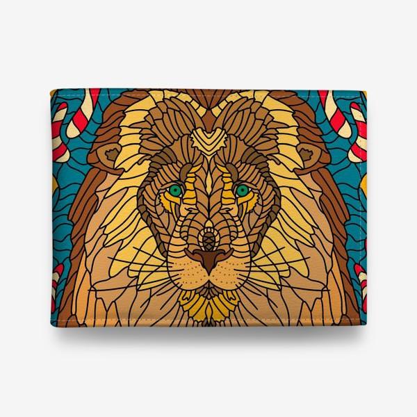 Кошелек «Лев.Мозаика 2»