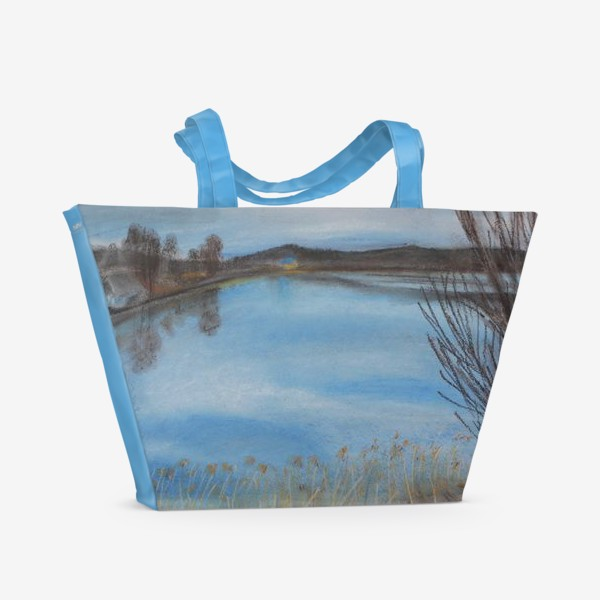 Пляжная сумка «Май в Карелии»
