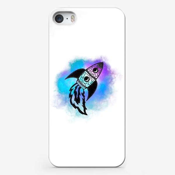 Чехол iPhone «Ракета»