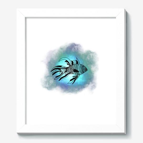 Картина «Рыба с узорами»
