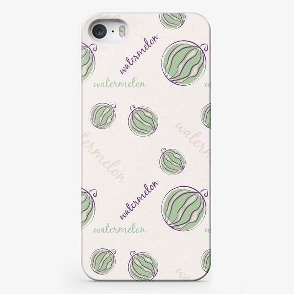 Чехол iPhone «Арбуз паттерн »