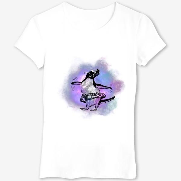 Футболка «Танцующий пингвин»