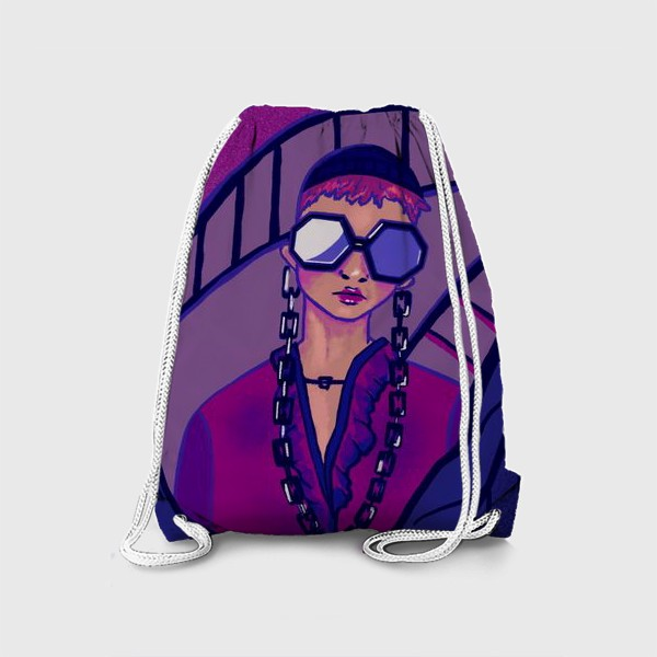 Рюкзак «Девушка в очках»
