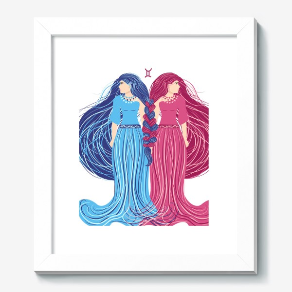 Картина «Знак зодиака Близнецы »