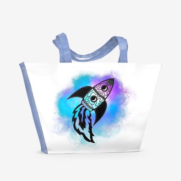 Пляжная сумка «Ракета»