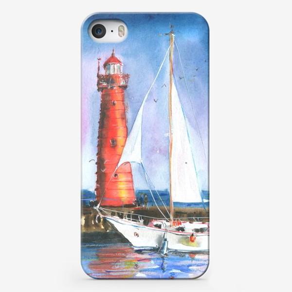 Чехол iPhone «Красный маяк»