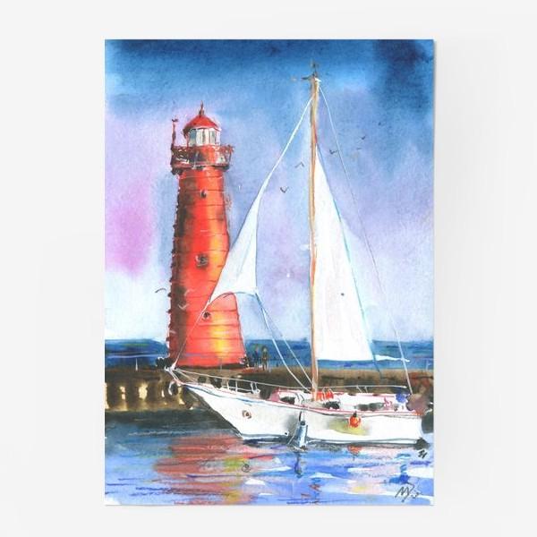 Постер «Красный маяк»
