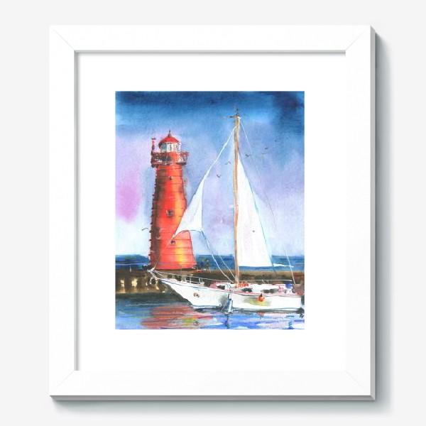 Картина «Красный маяк»