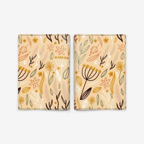 Обложка для паспорта «ботаника»