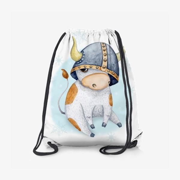 Рюкзак «Бычок - символ 2021 года »