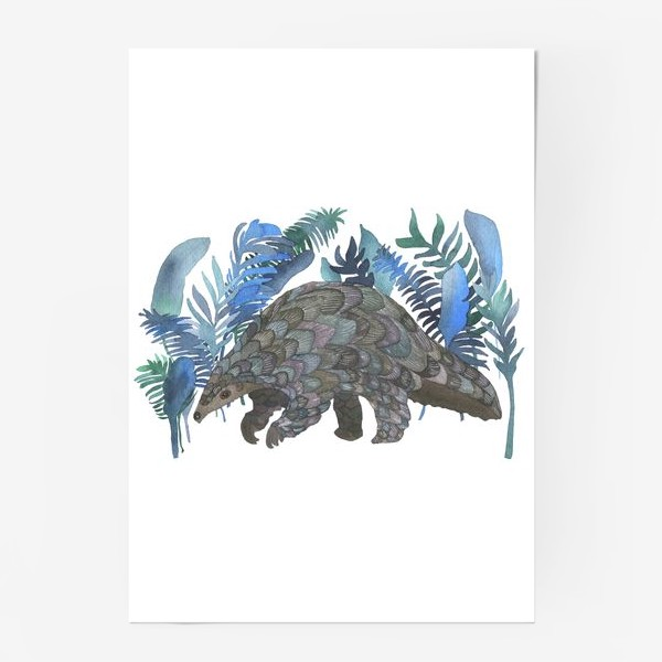 Постер «Панголин»