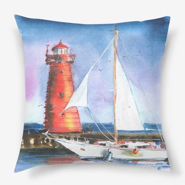 Подушка «Красный маяк»