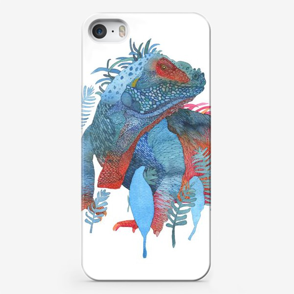 Чехол iPhone «Ящер»
