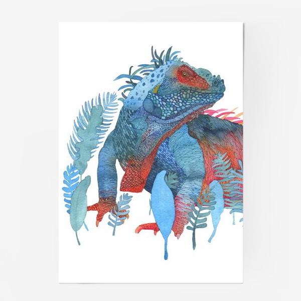 Постер «Ящер»