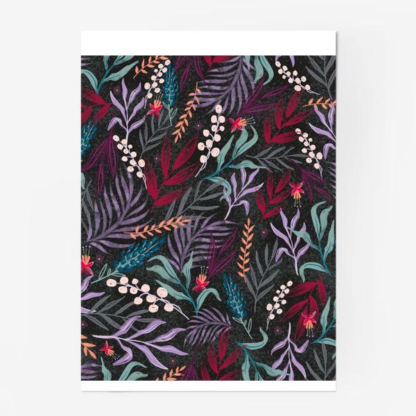 Постер «ботаника»