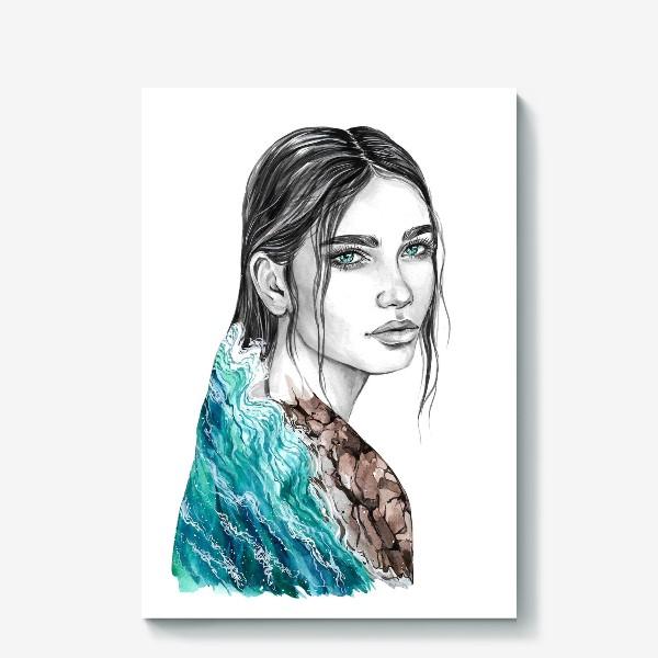 Холст «Стихия Воды»