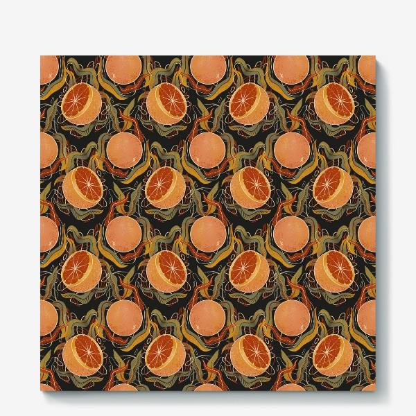 Холст «грейпфрут»