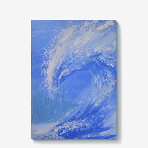 Холст «Морская волна»