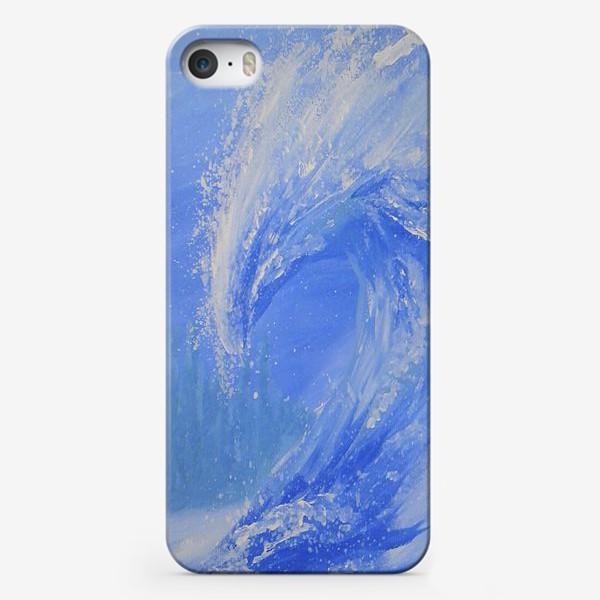 Чехол iPhone «Морская волна»