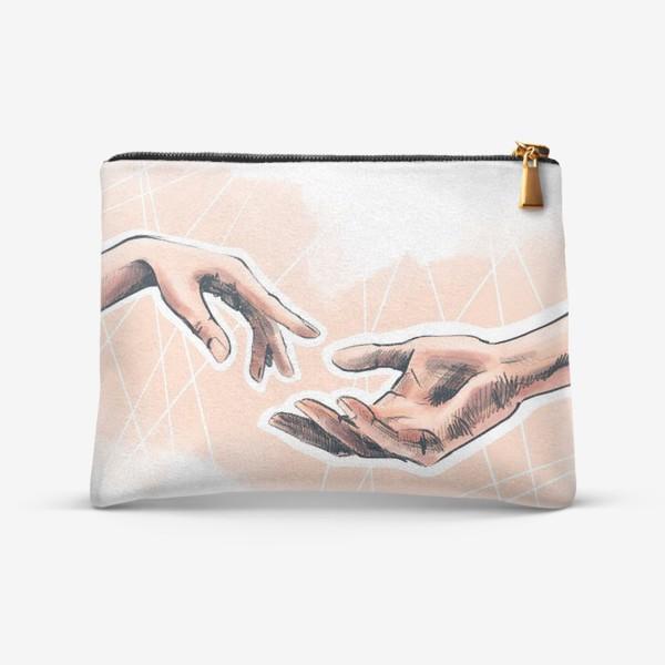 Косметичка «Руки навстречу друг другу»