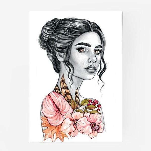 Постер «Девочка - осень»