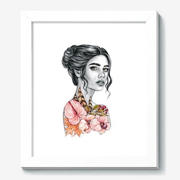 Картина «Девочка - осень»