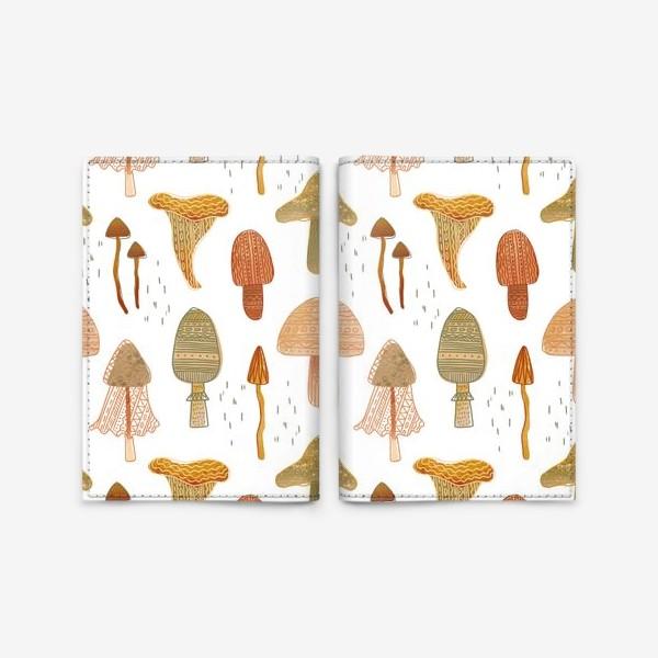 Обложка для паспорта «грибы»