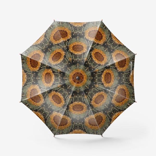 Зонт «подсолнух»