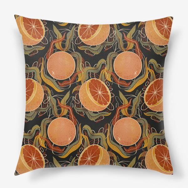 Подушка «грейпфрут»