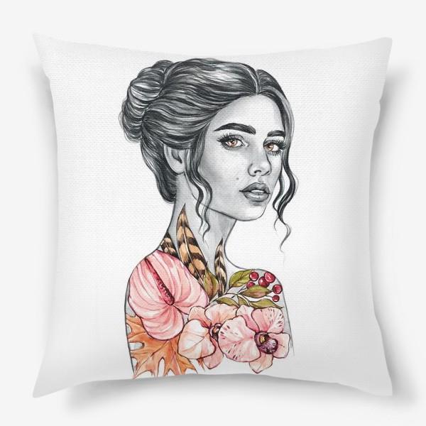 Подушка «Девочка - осень»