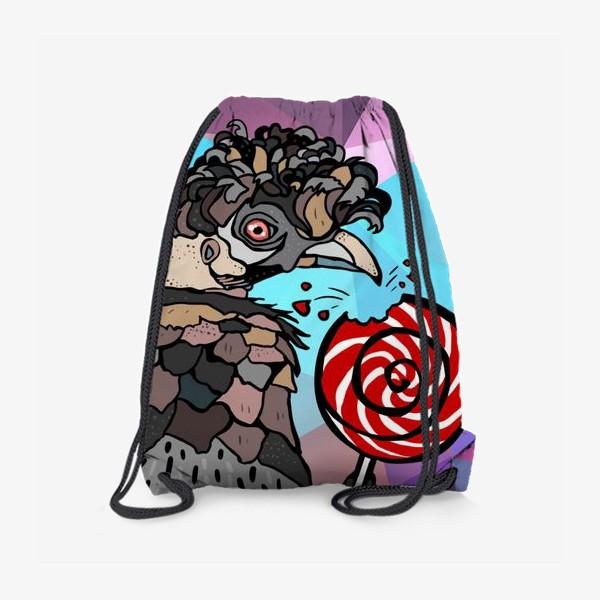 Рюкзак «Птица и леденец»