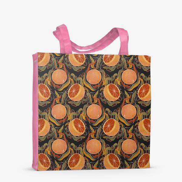 Сумка-шоппер «грейпфрут»