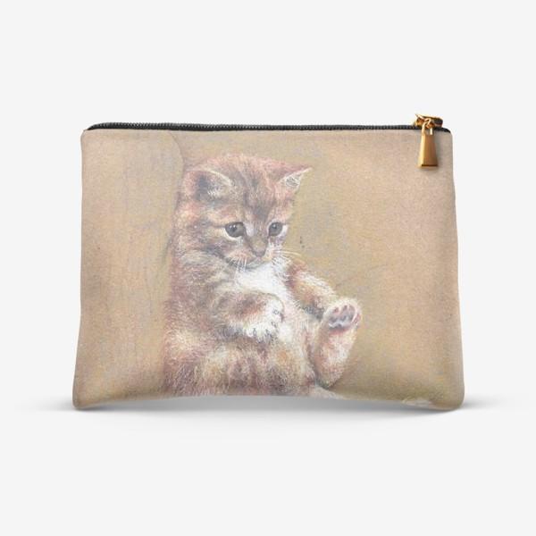 Косметичка «Котик,котенок,кот подарок»