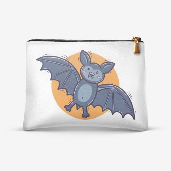 Косметичка «Милая летучая мышь. Хэллоуин»