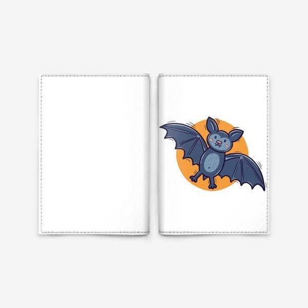 Обложка для паспорта «Милая летучая мышь. Хэллоуин»