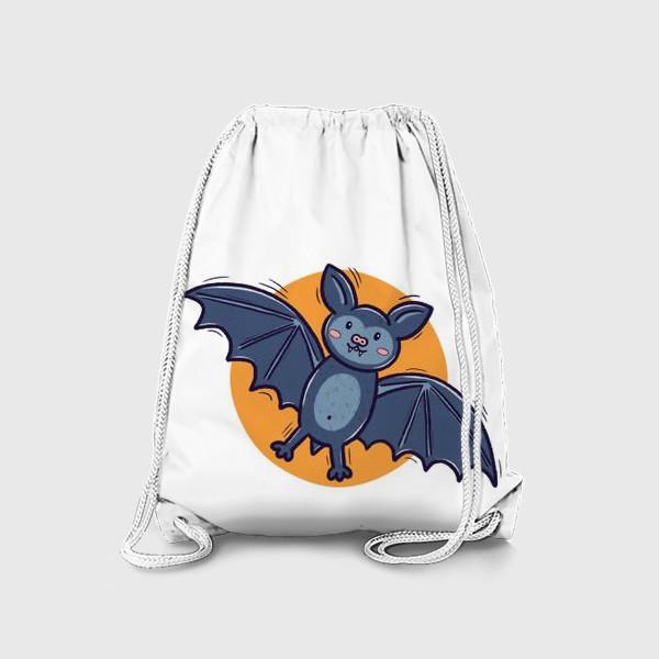 Рюкзак «Милая летучая мышь. Хэллоуин»