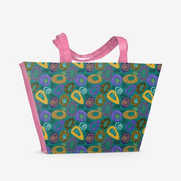 Пляжная сумка «Паттерн абстрактный2»