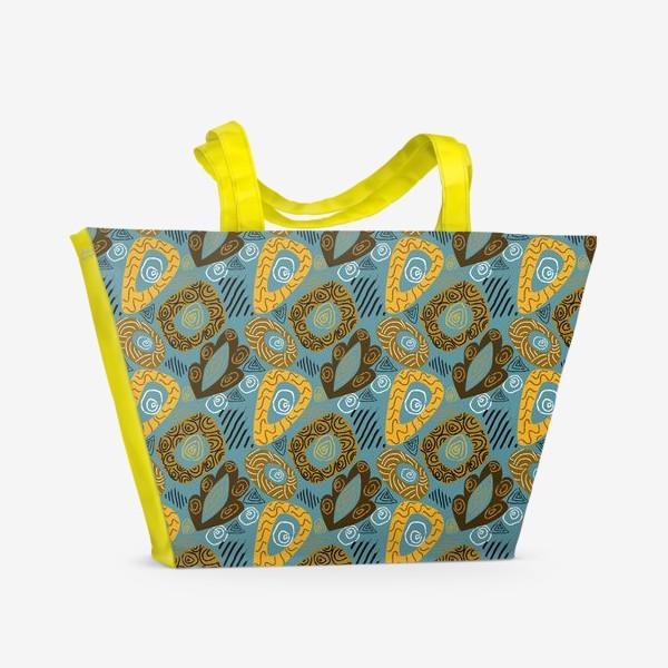Пляжная сумка «Абстракция 1»