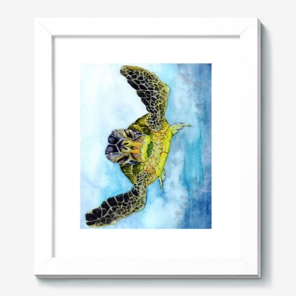 Картина «Морское приключение. Черепаха»