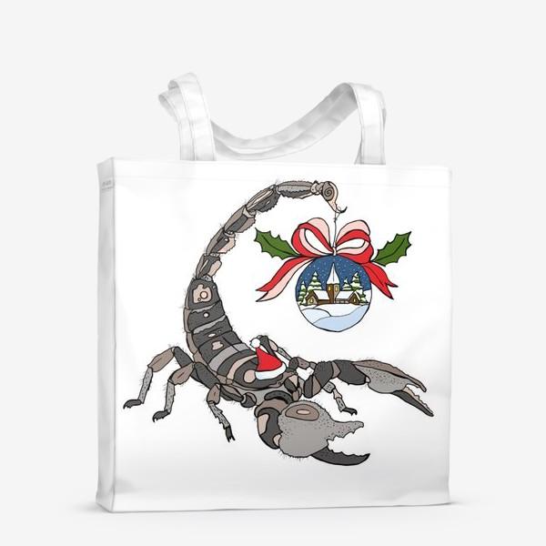 Сумка-шоппер «Скорпион»