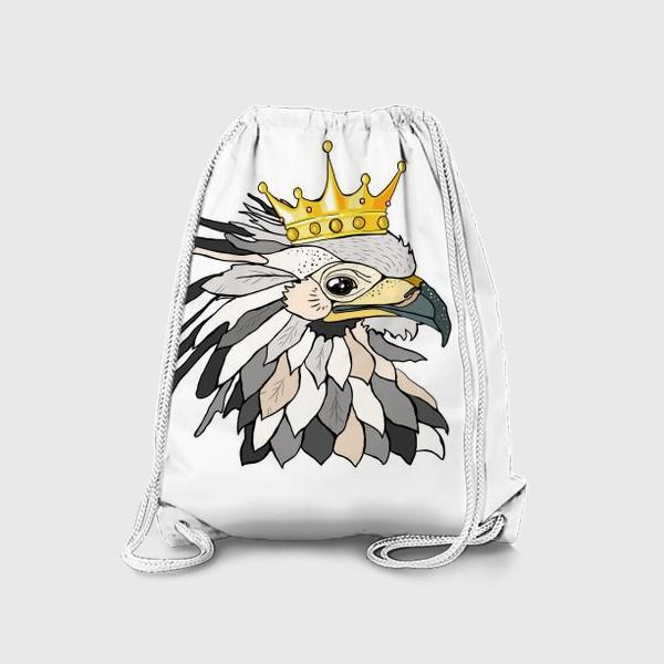 Рюкзак «Птица в короне»
