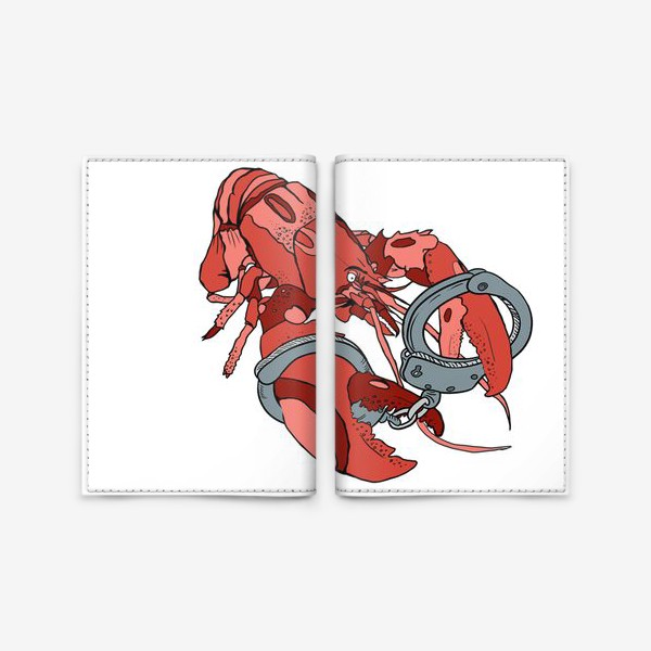 Обложка для паспорта «Омар»