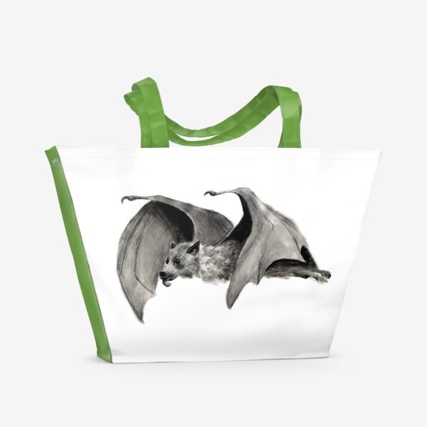 Пляжная сумка «летучая мышь»
